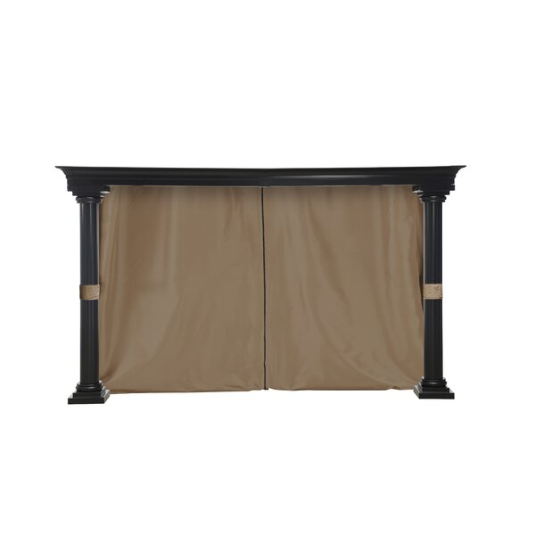 Universal Privacy Curtain for 12' x 12' Gazebo by Sunjoy