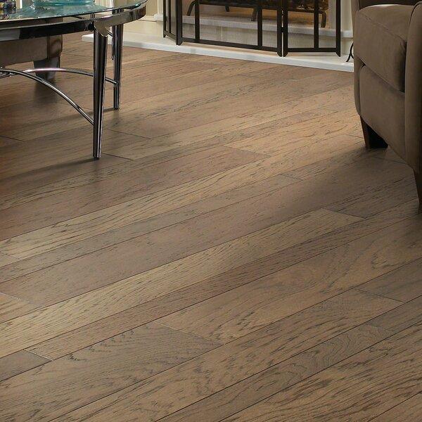 Hastings Random Width Engineered Hickory Hardwood Flooring in Pioneer by Shaw Floors