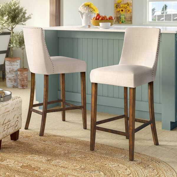 Cottonwood 30.6 Bar Stool (Set of 2) by August Grove