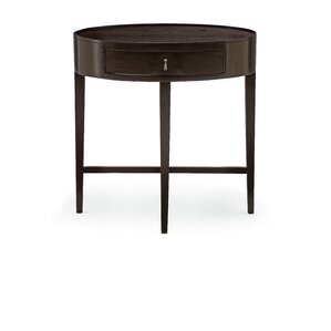 Haven Oval 1 Drawer Nightstand by Bernhardt