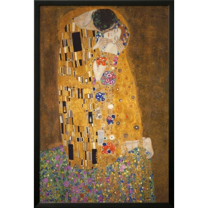 Buy Art For Less \'The Kiss (Le Baiser) Poster\' by Gustav Klimt ...