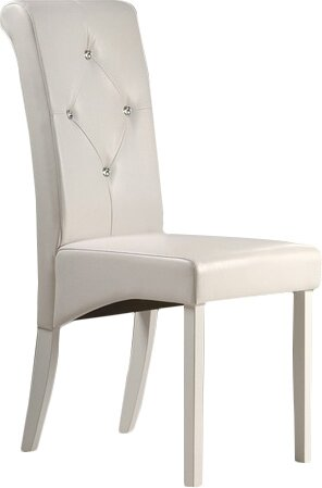Rosette Upholstered Dining Chair (Set of 2) by Winston Porter
