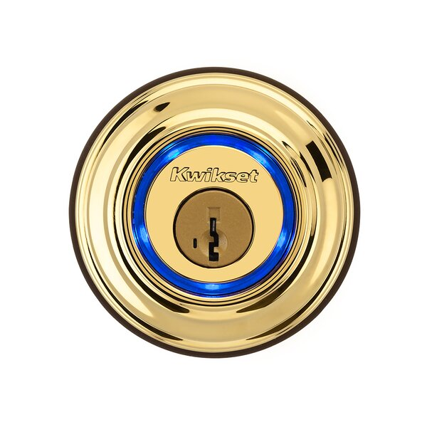 Kevo Single Cylinder Deadbolt featuring Smartkey by Kwikset