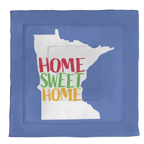 Home Sweet Minnesota Single Reversible Comforter