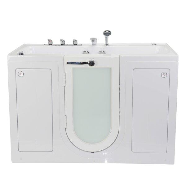 Tub4Two Dual Massage 31.75 x 60 Walk-in Whirlpool by Ella Walk In Baths