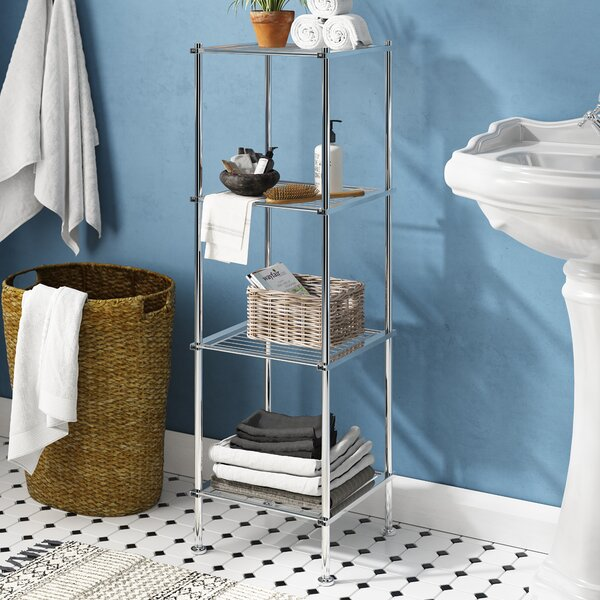 Elene 13 W x 41.13 H Bathroom Shelf by The Twiller