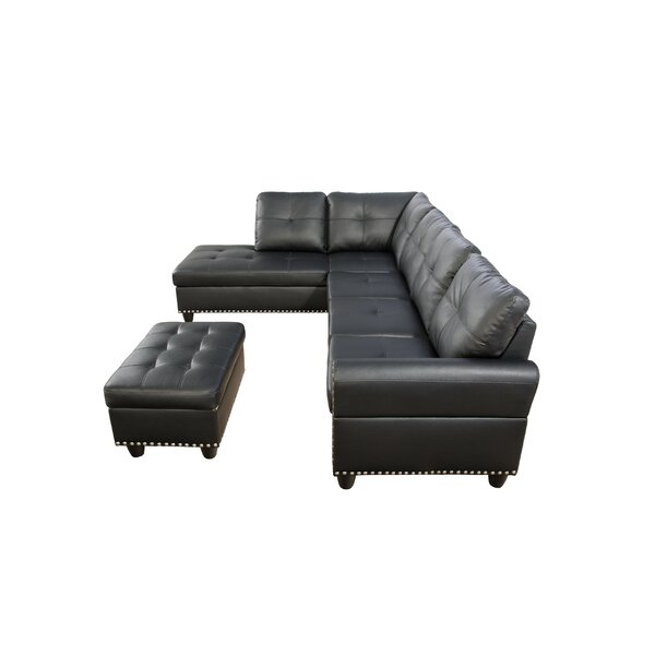 Best #1 San Marcos Sectional With Ottoman By Red Barrel Studio Wonderful