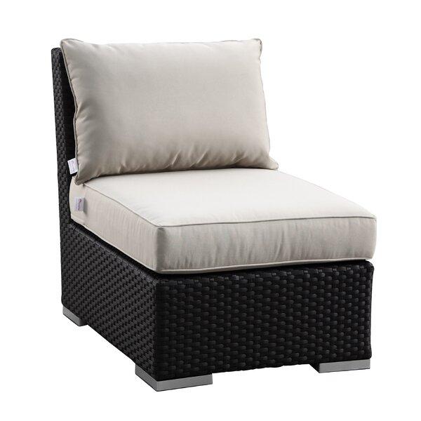 Aramingo Armless Club with Cushions by Wrought Studio