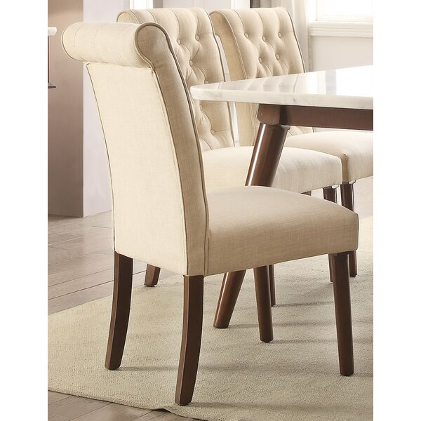Hektor Upholstered Dining Chair (Set of 2) by Brayden Studio