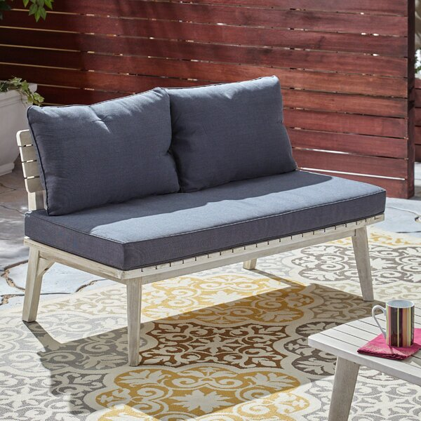 Eller Loveseat With Cushions By George Oliver by George Oliver #1