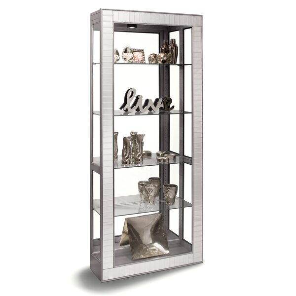 Morphis Lighted Curio Cabinet By Wrought Studio Comparison