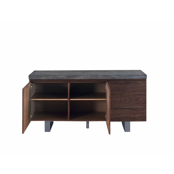 Billingsley Transitional Wooden Sideboard by Foundry Select
