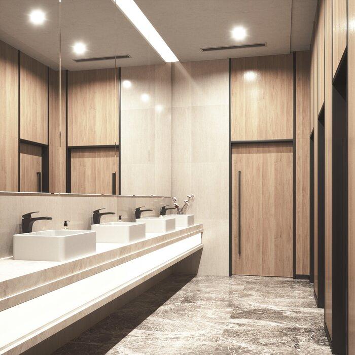 Lavabo de salle de bain rectangulaire pour bateau avec robinet vigo Matte  Stone