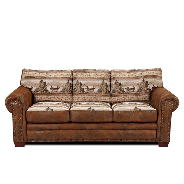 Charlie Alpine Sofa by Millwood Pines