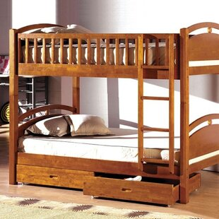 Wycombe Twin Bunk Bed with Drawers By Harriet Bee