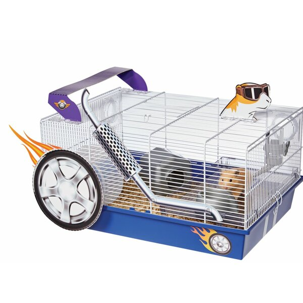 Critterville Hot Rod Hamster Cage by Midwest Homes For Pets