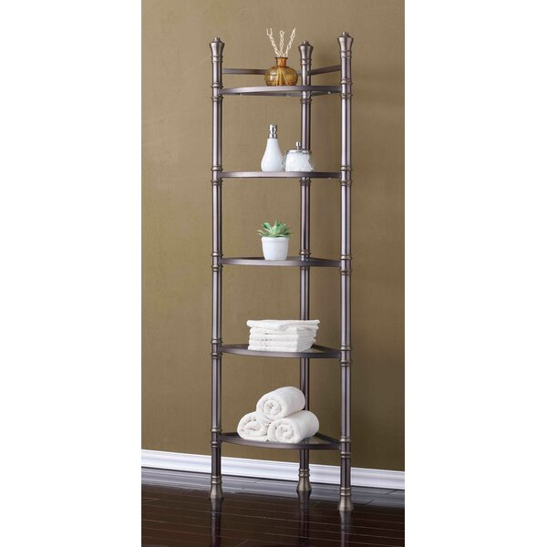 Monaco 16.5 W x 67 H Bathroom Shelf by BEST LIVING INC