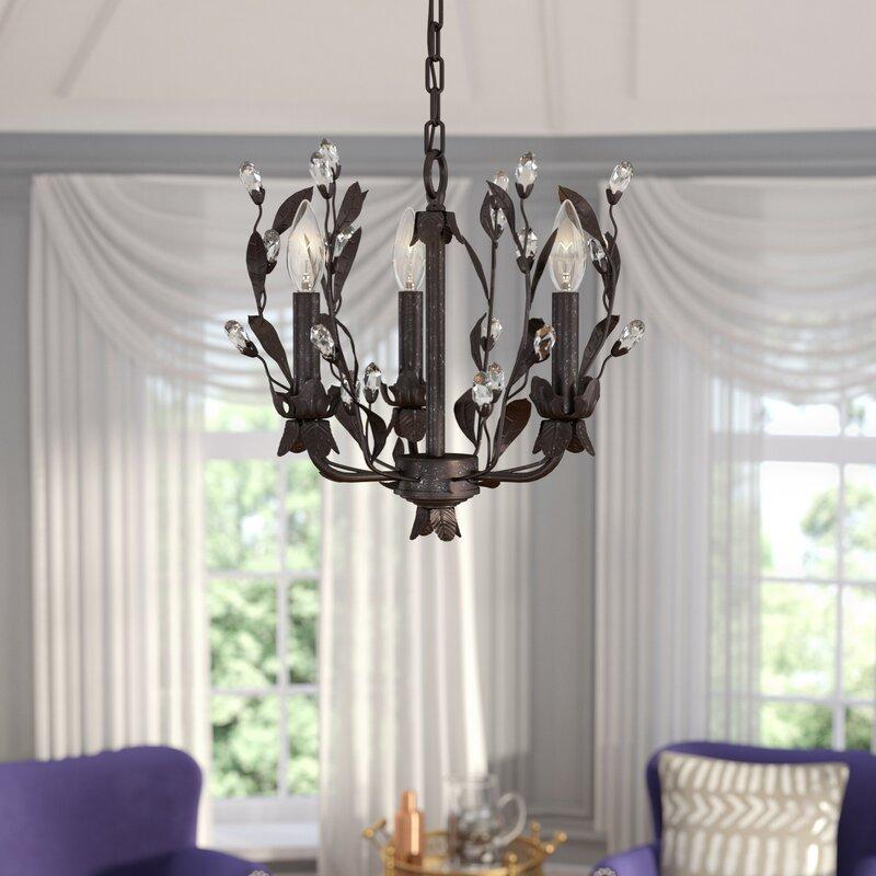 Giovanna 3 light mini chandelier reviews joss main giovanna 3 light mini chandelier aloadofball Gallery