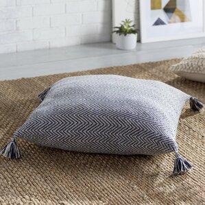 Cottonwood Chevron Cotton Floor Pillow