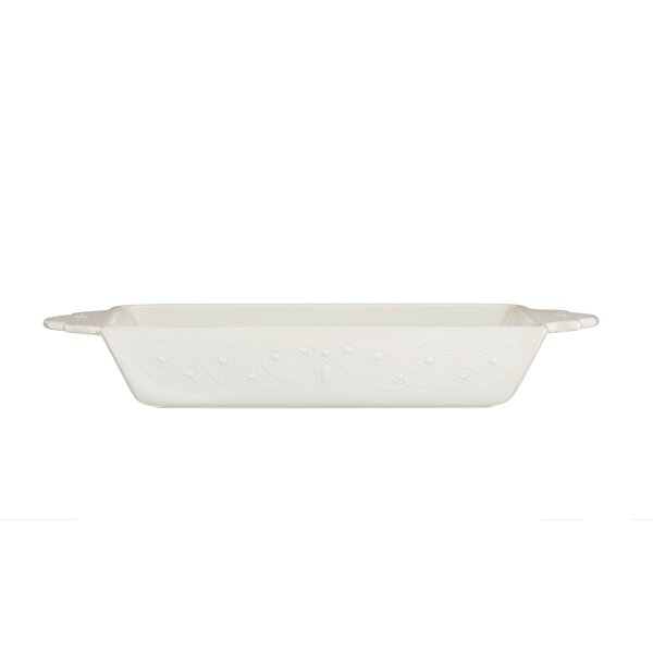 French Perle Rectangular Baker by Lenox