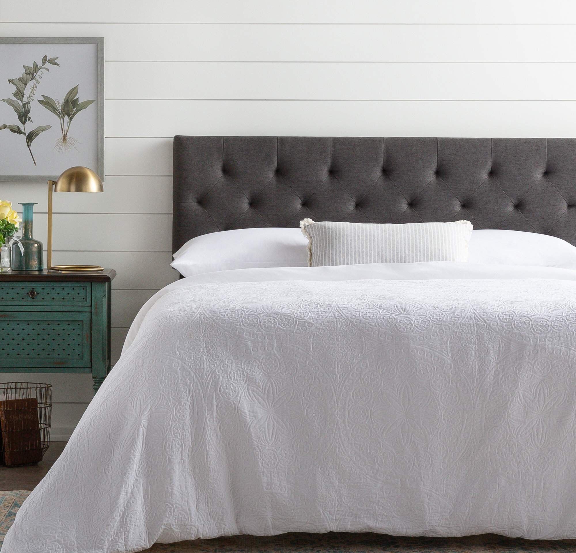 Black Upholstered Headboards You Ll Love In 2020