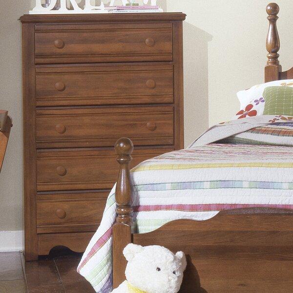 Crossroads 5 Drawer Chest by Carolina Furniture Works, Inc.