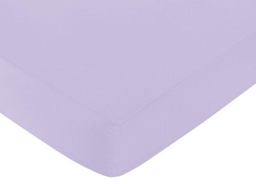 Elizabeth Solid Fitted Crib Sheet by Sweet Jojo Designs