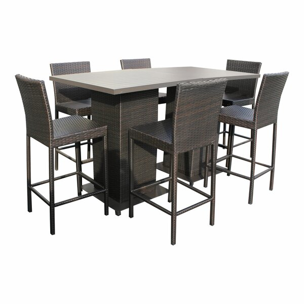 Medley 8 Piece Pub Table Set by Rosecliff Heights