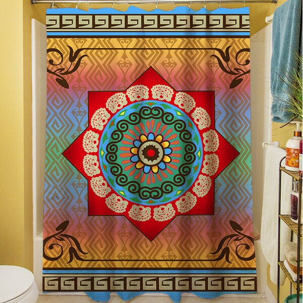 Mexican Summer Shower Curtain by Manual Woodworkers & Weavers