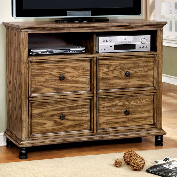 Zebadiah 4 Drawer Media Chest by Gracie Oaks