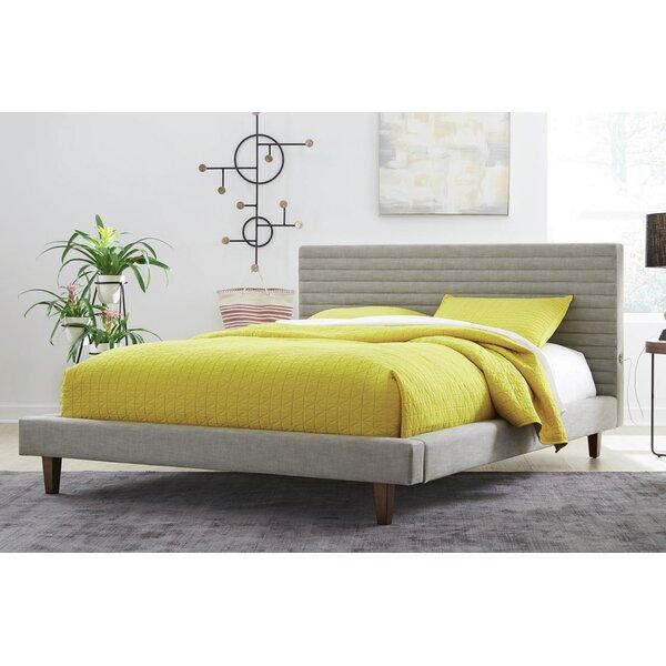 Kempst Upholstered Platform Bed by Corrigan Studio