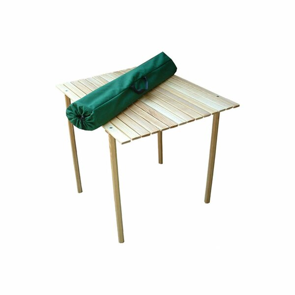 Roll Top Packable Picnic Table by Blue Ridge Chair Works