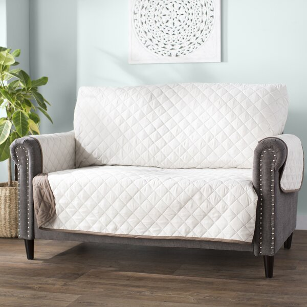 Box Cushion Loveseat Slipcover by Red Barrel Studi