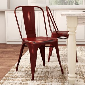 Monette Stackable Dining Side Chair (Set of 2) by Laurel Foundry Modern Farmhouse