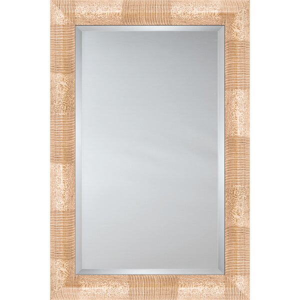 Mirror Style 81117 - Bullnose Mocha / Ivory Stripe And Mottle by Mirror Image Home
