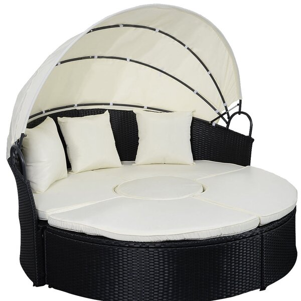 Humble Patio Daybed with Cushions by Red Barrel Studio| @ $519.99