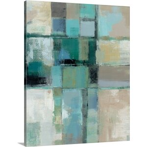 'Island Hues Crop II' by Silvia Vassileva Painting Print on Canvas by Great Big Canvas