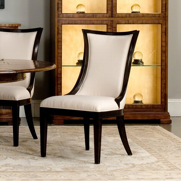 Parisian Upholstered Dining Chair (Set of 2) by Sarreid Ltd Sarreid Ltd