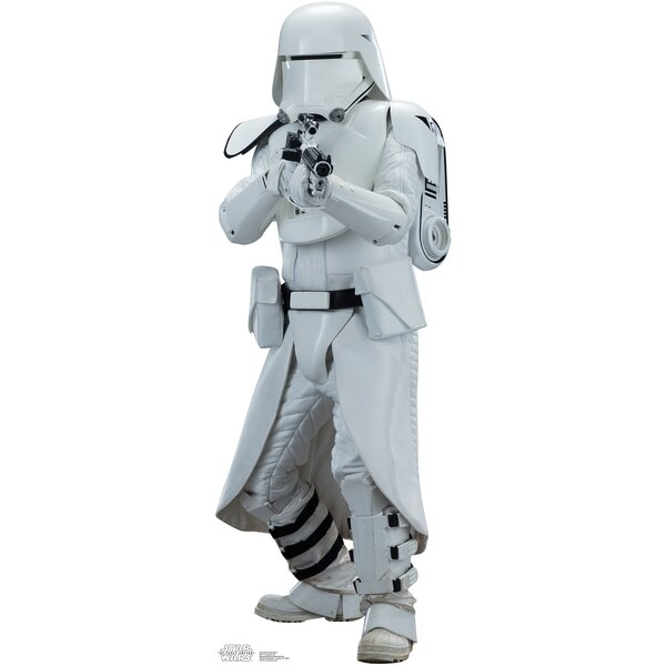 Star Wars Episode VII: The Force Awakens Snowtrooper Cardboard Cutout by Advanced Graphics