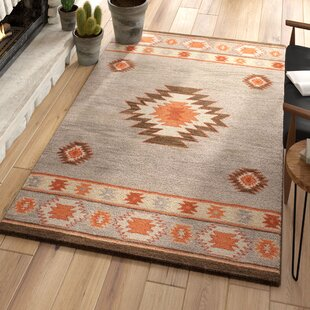Claghorn Hand-Tufted Sage Area Rug by Loon Peak
