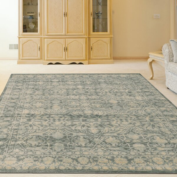 Benson Green Area Rug by Threadbind