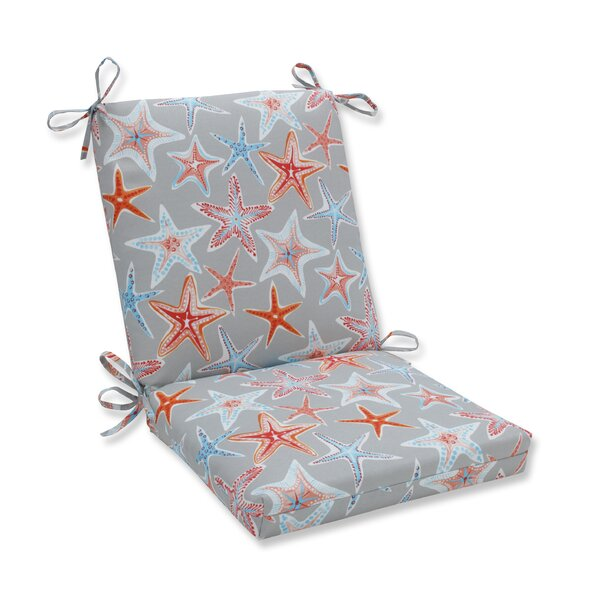 Stars Collide Squared Corner Indoor/Outdoor Dining Chair Cushion by Pillow Perfect