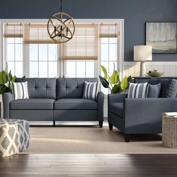 Wolfram 2 Piece Living Room Set by Breakwater Bay