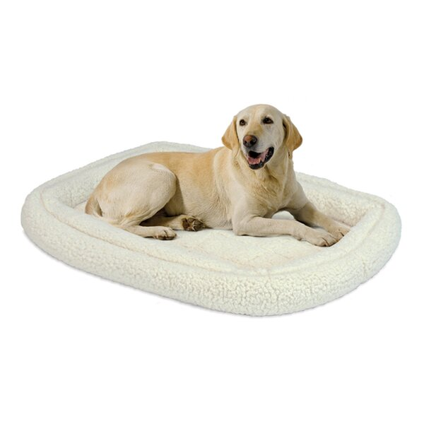 Albert Deluxe Fleece Double Bolster Bed by Tucker