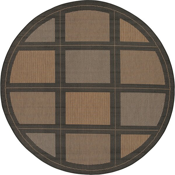 Westlund Cocoa Indoor/Outdoor Area Rug by Charlton Home