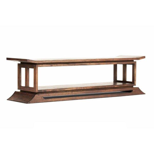 Cecere Wood Bench by Brayden Studio