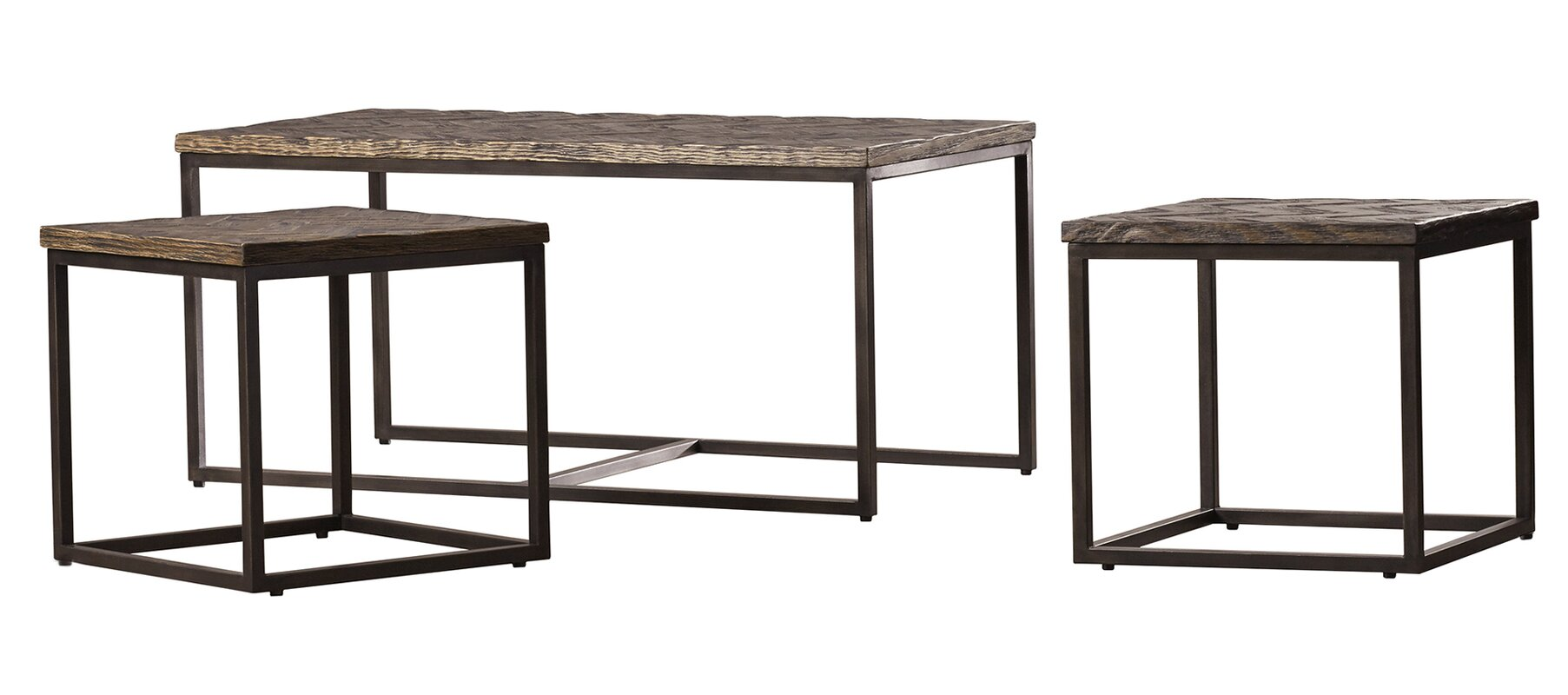 3 Piece Uzo Nesting Table Set