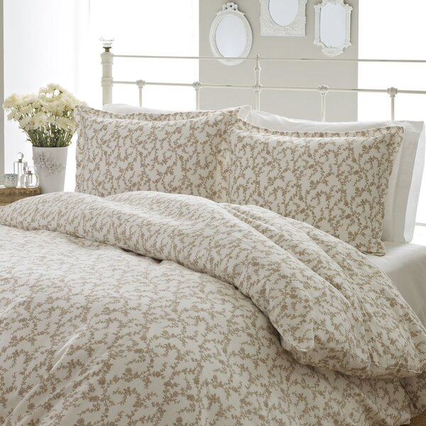Victoria Flannel Comforter Set by Laura Ashley Home by Laura Ashley Home