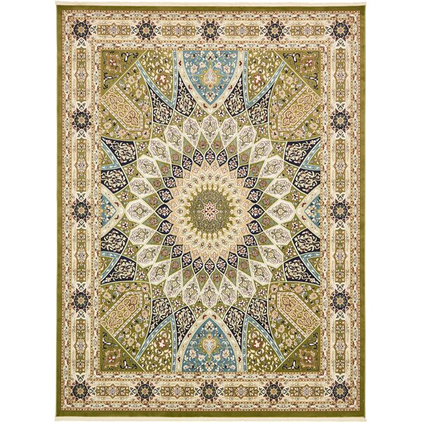 Jackson Green Area Rug by Astoria Grand