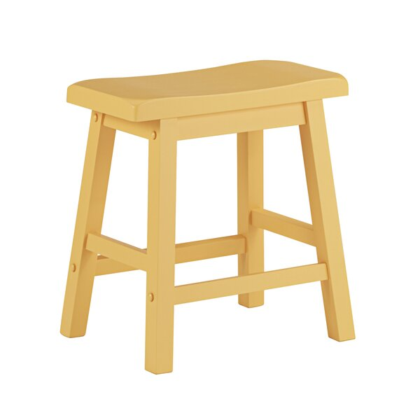 Sharman 18 Accent Stool (Set of 2) by Three Posts